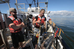 UW-Milwaukee Students Sample Green Bay Waters