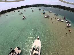 Drone view and 80-second video of Lake Michigan